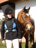 Jana a její koník.